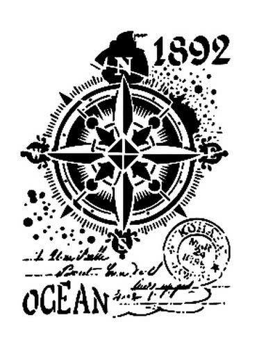 Cadence Cadence Mask Stencil AS - ocean-kompas