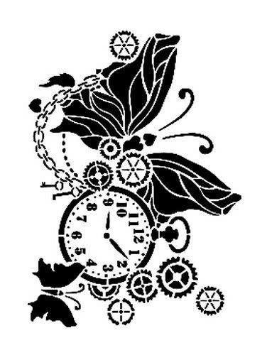 Cadence Cadence Mask Stencil AS - zakhorloge-vlinder