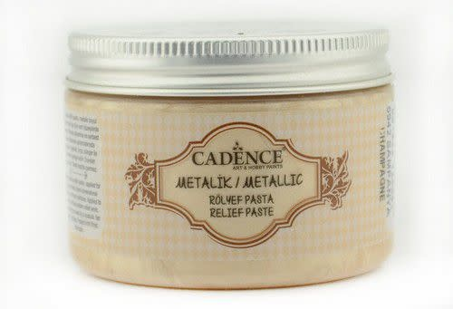 Cadence Cadence Metallic Relief Pasta Champaigne