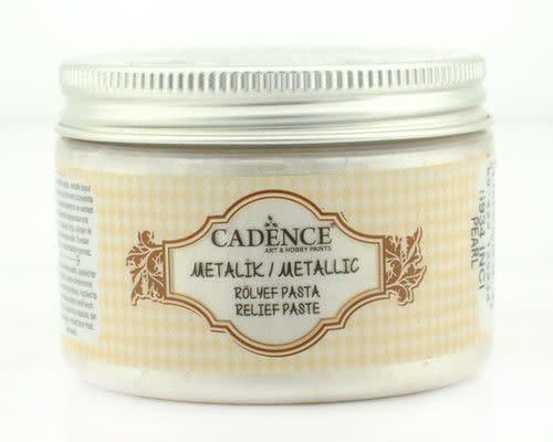 Cadence Cadence Metallic Relief Pasta Parelmoer