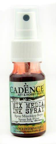 Cadence Cadence Mix Media Inkt spray Rood