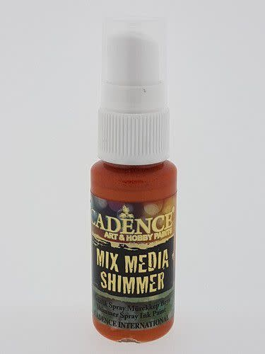 Cadence Cadence Mix Media Shimmer metallic spray Oranje