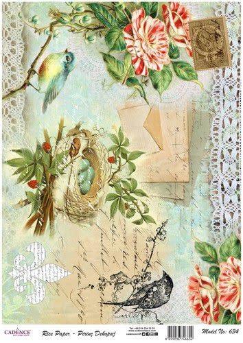 Cadence Cadence rijst papier vogel - nest