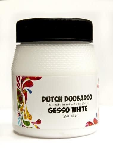 Dutch Doobadoo Dutch Doobadoo Dutch Gesso wit 250ML