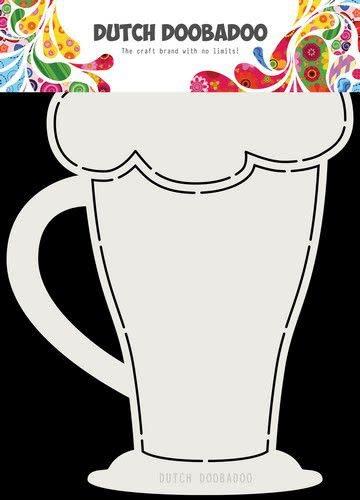 Dutch Doobadoo Dutch Doobadoo Card Art A5 Cappuchino