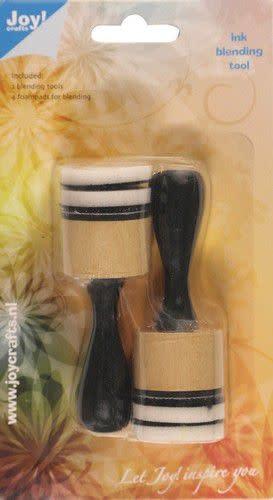 Joy!Crafts Joy! Crafts Inkt blending tool 2st + 4 foampads