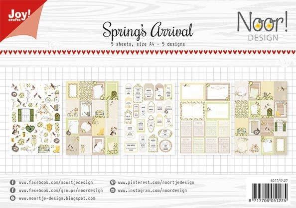 Joy!Crafts Joy! Crafts Labelvellen - Noor - Spring's Arrival