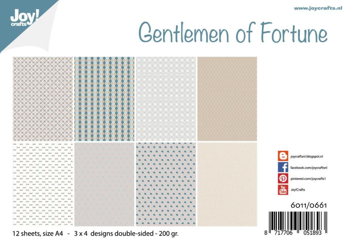 Joy!Crafts Joy! Crafts Papierset - Design - Gentlemen of Fortune