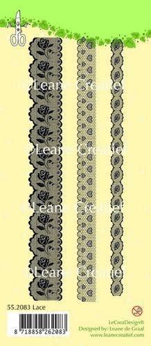 LeCrea LeCrea - Clear stamp Lace long