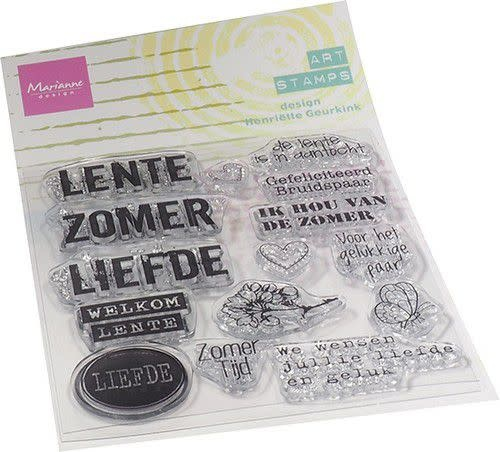 Marianne D Marianne D Clear Stamps Art stamps - zomertijd (NL)