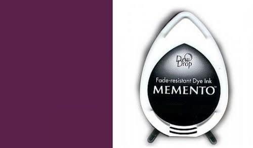 Memento Memento Dew Drop inktkussen Elderberry