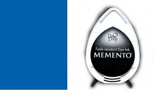 Memento Memento Dew Drop inktkussen Danube Blue