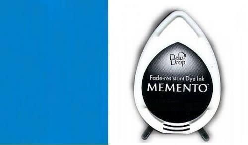 Memento Memento Dew Drop inktkussen Bahama Blue