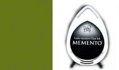 Memento Memento Dew Drop inktkussen Bamboo Leaves