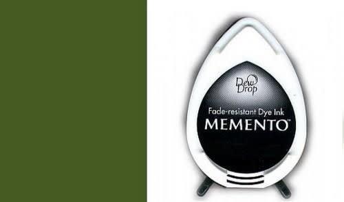 Memento Memento Dew Drop inktkussen Olive Grove
