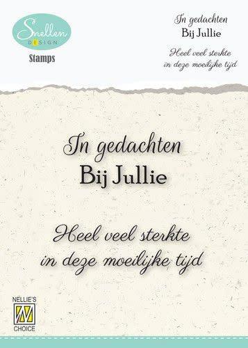 Nellie's choice Nellie's Choice Clear Stamps - (NL) In gedachten bij jullie…