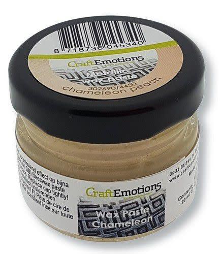 CraftEmotions CraftEmotions Wax Paste chameleon - perzik