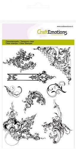 CraftEmotions CraftEmotions clearstamps A6 - ornamenten