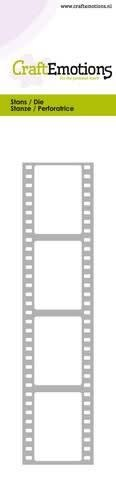 CraftEmotions CraftEmotions Die - Cutting border - film strip