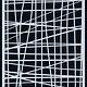 CraftEmotions CraftEmotions Mask stencil - lijnen ruit onregelmatig A5
