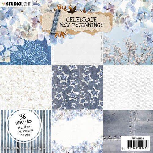 Studio Light Studio Light Paper pad Celebrate new beginnings nr.159