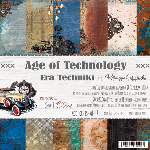 craftoclock Age of technology 20.3x20.3