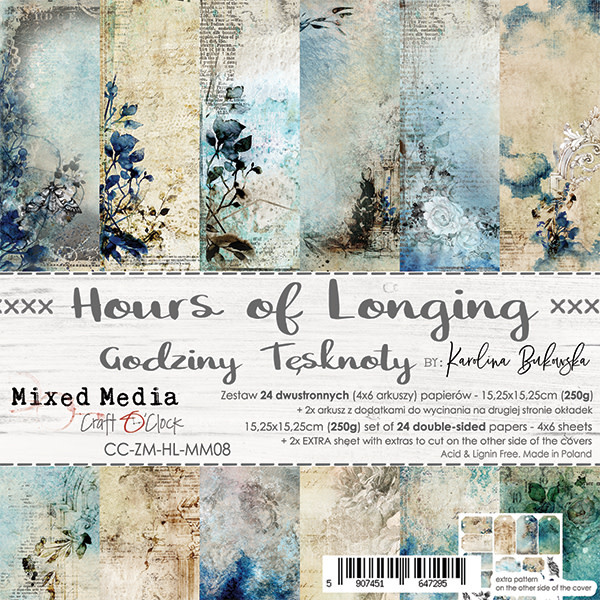 craftoclock Hours of longing 15.2x15.2