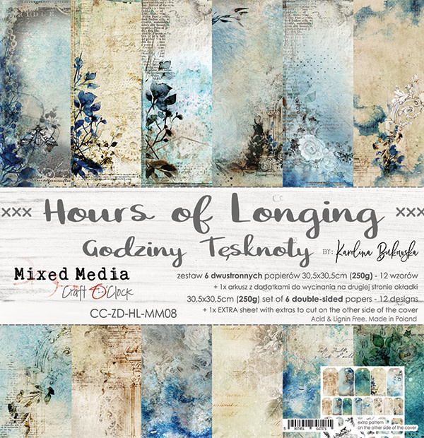 craftoclock Hours of longing 30.5x30.5