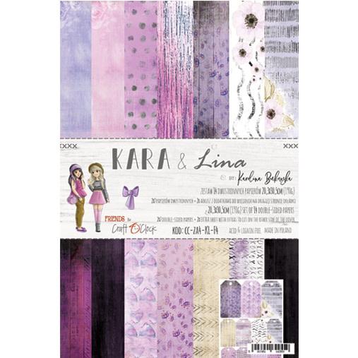 craftoclock Kara &Lina 20.3X30.5