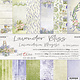 craftoclock Lavender bliss 30.5x30.5 paper pad