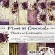 craftoclock Plum in chocolate 15.2x15.2