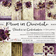 craftoclock Plum in chocolate 20.3x20.3