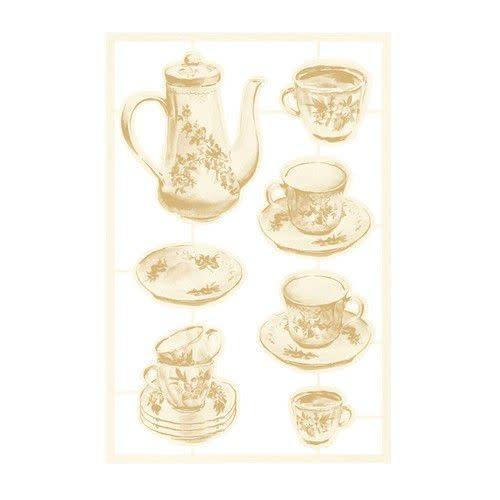 Piatek 13 Piatek13 - Chipboard embellishments Forest tea party 02