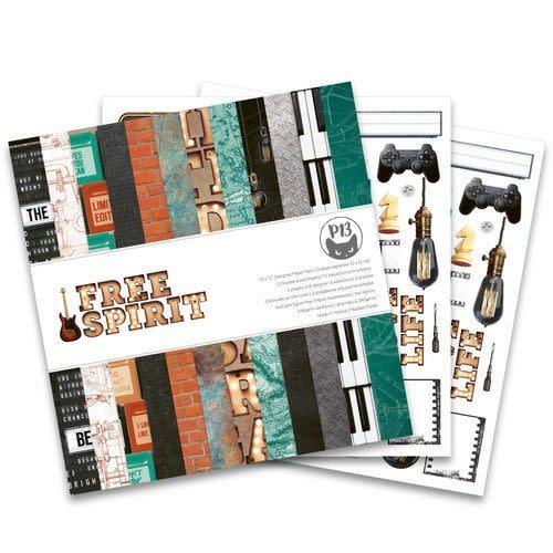 Piatek 13 Piatek13 - Paper pad  Free Spirit, 12x12''