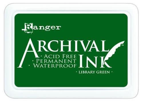 Ranger Ranger Archival Ink pad - library green