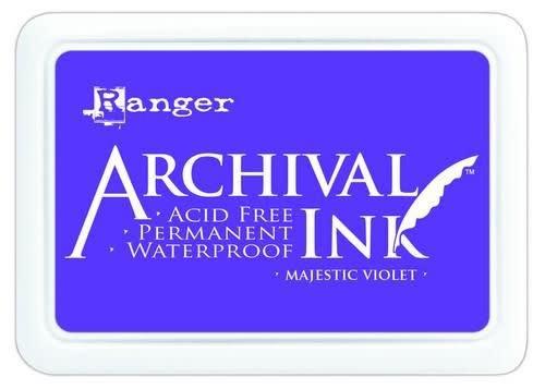 Ranger Ranger Archival Ink pad - majestic violet