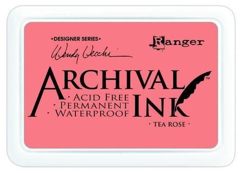 Ranger Ranger Archival Ink pad - tea rose