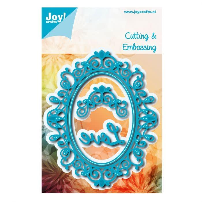 Joy!Crafts Joy!Crafts • Snij- embosstencil Noor! oval Sophia