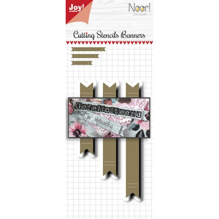 Joy!Crafts Joy!Crafts • Snijstencil Banners