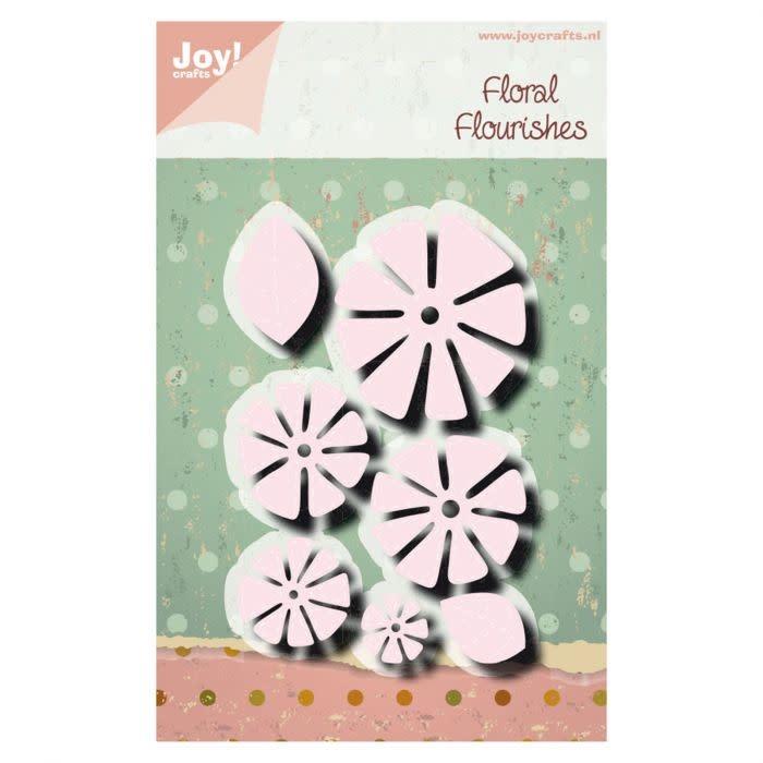 Joy!Crafts Joy!Crafts • Snijstencil Noor Charlotte Bloem stikdesign