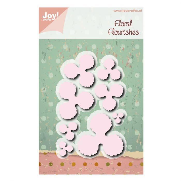 Joy!Crafts Joy!Crafts • Snijstencil Noor Rib Bloemen