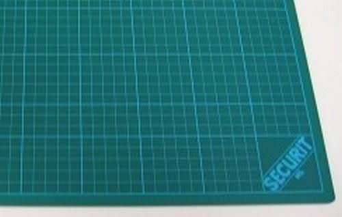 CraftEmotions Snijmat groen 3-laags 30x45cm