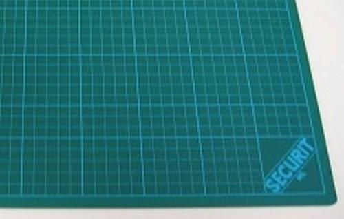 CraftEmotions Snijmat groen 3-laags 45x60cm