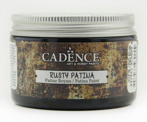 Cadence Cadence rusty patina verf Grijs zwart