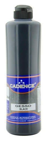 Cadence Cadence gesso acrylverf zwart