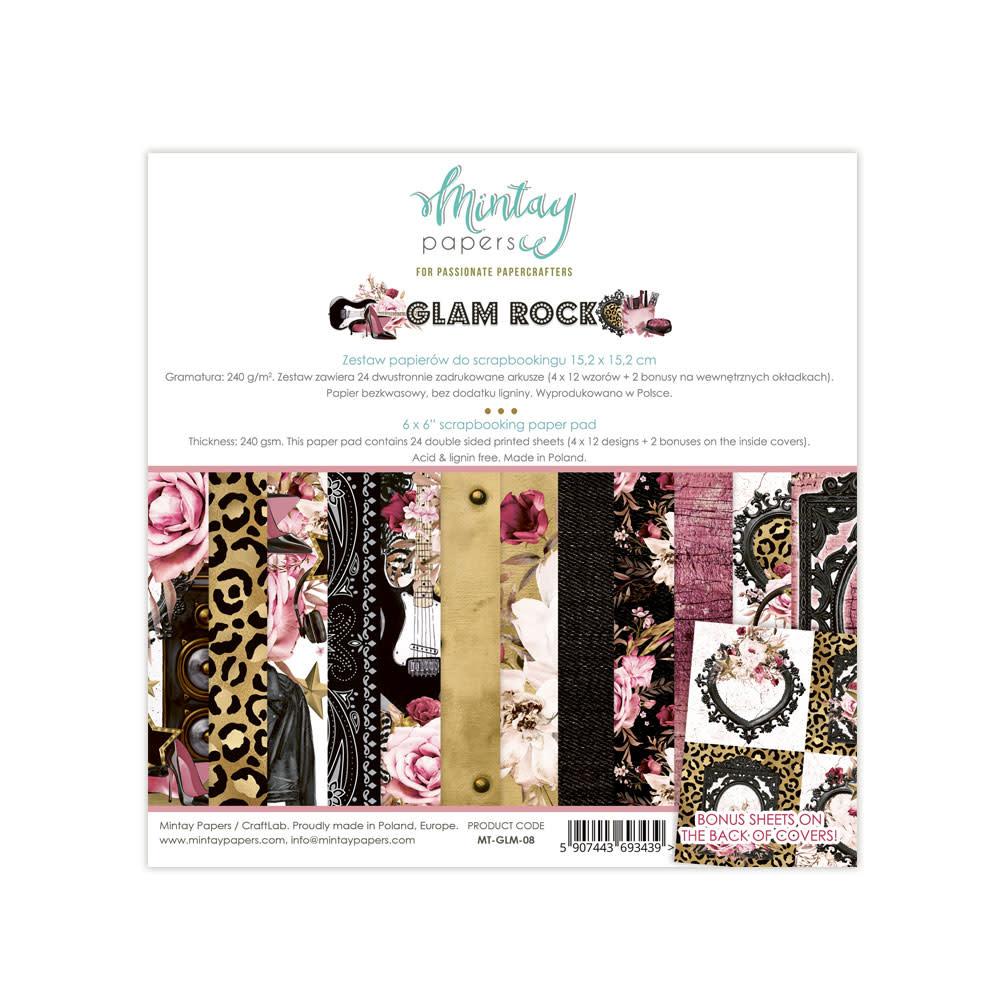 Mintay Paperpad 15.2x15.2 glamrock