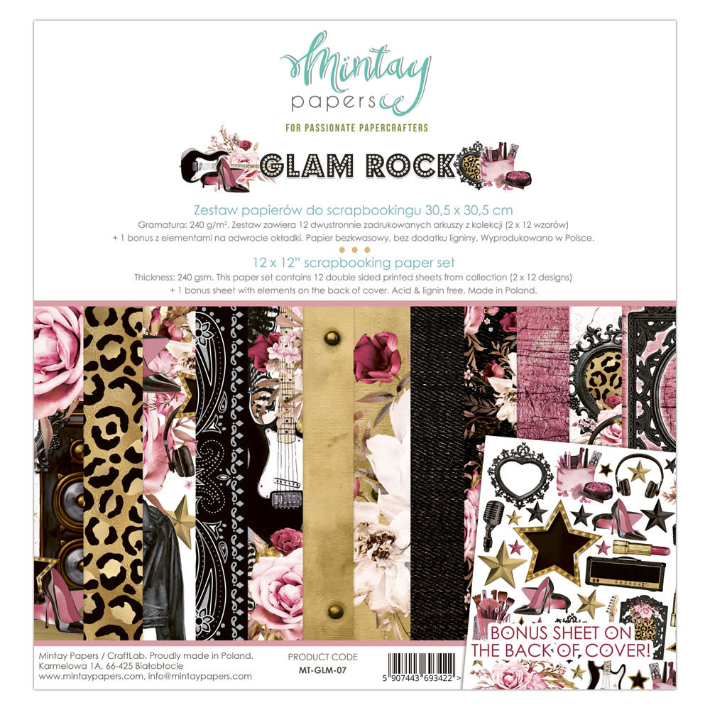 Mintay Paperpad 30.5x30.5 glamrock