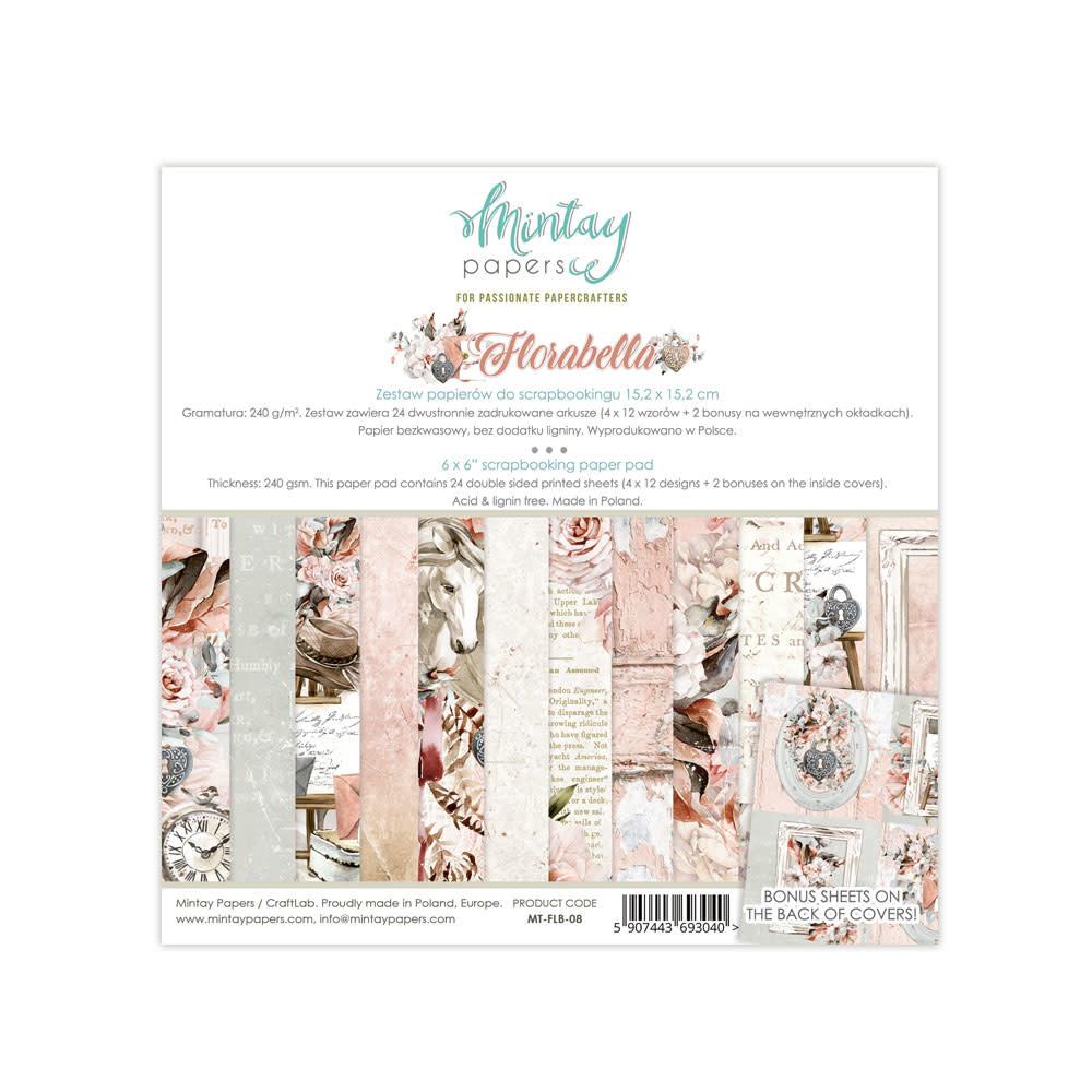 Mintay Paperpad 15.2x15.2 Flora bella