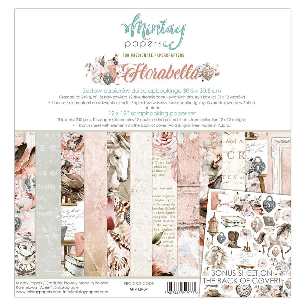 Mintay Paperpad 30.5x30.5 Flora bella