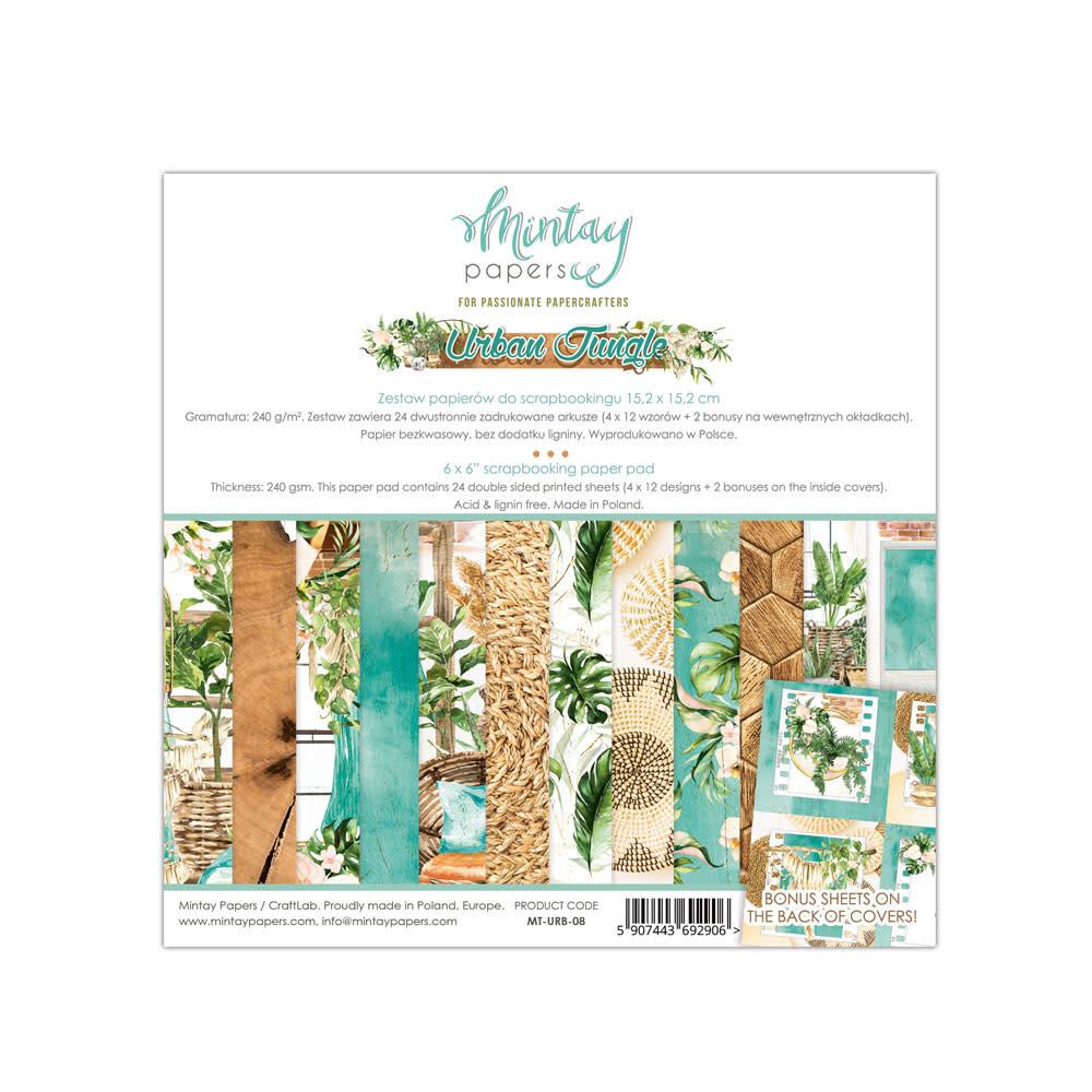 Mintay Paperpad 15.2x15.2 Urban jungle